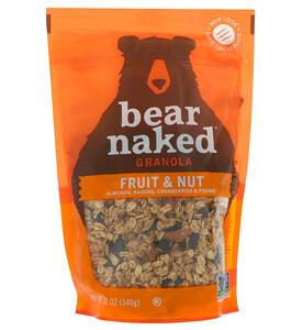 Беар Нэкид, 100% Pure & Natural Granola, Fruit and Nut, 12 oz (340 g) отзывы покупателей