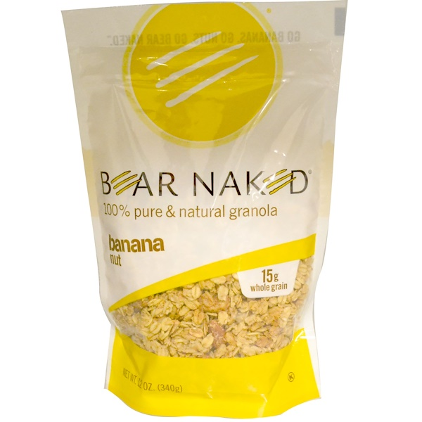 Bear Naked, 100% Pure & Natural Granola, Banana Nut, 12 oz (340 g) (Discontinued Item)