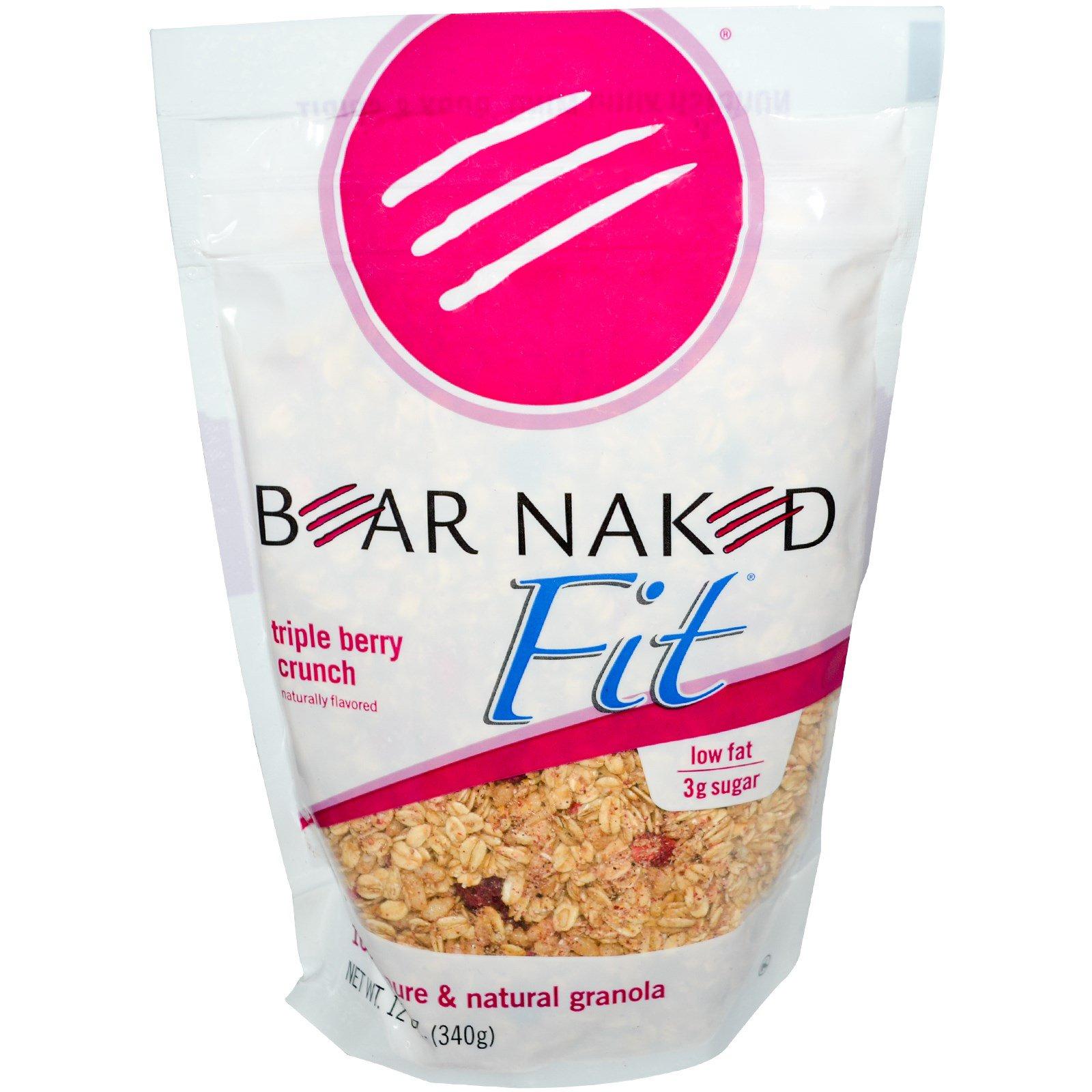 Bear Naked, Fit , 100% натуральная гранола с ягодами 12 унции (340 г)