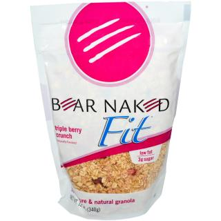 Bear Naked, Fit, 100% Pure & Natural Granola, Triple Berry Crunch, 12 oz (340 g)