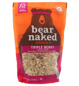 Беар Нэкид, Fit, Granola, Triple Berry, 12 oz (340 g) отзывы покупателей