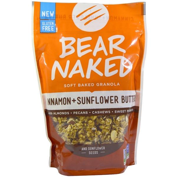 Bear Naked, Soft Baked Granola, Cinnamon + Sunflower Butter, 11 oz (311 g) (Discontinued Item)