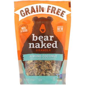 Bear Naked, Granola sem Grãos, Amêndoa e Coco, 226 g (8 oz)