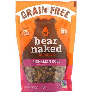 Bear Naked, Granola sem Grãos, Rolinhos de Canela, 226 g (8 oz)'