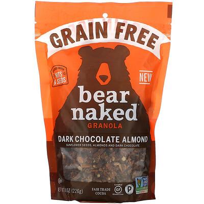 Купить Bear Naked беззерновая гранола, темный шоколад и миндаль, 226г (8унций)