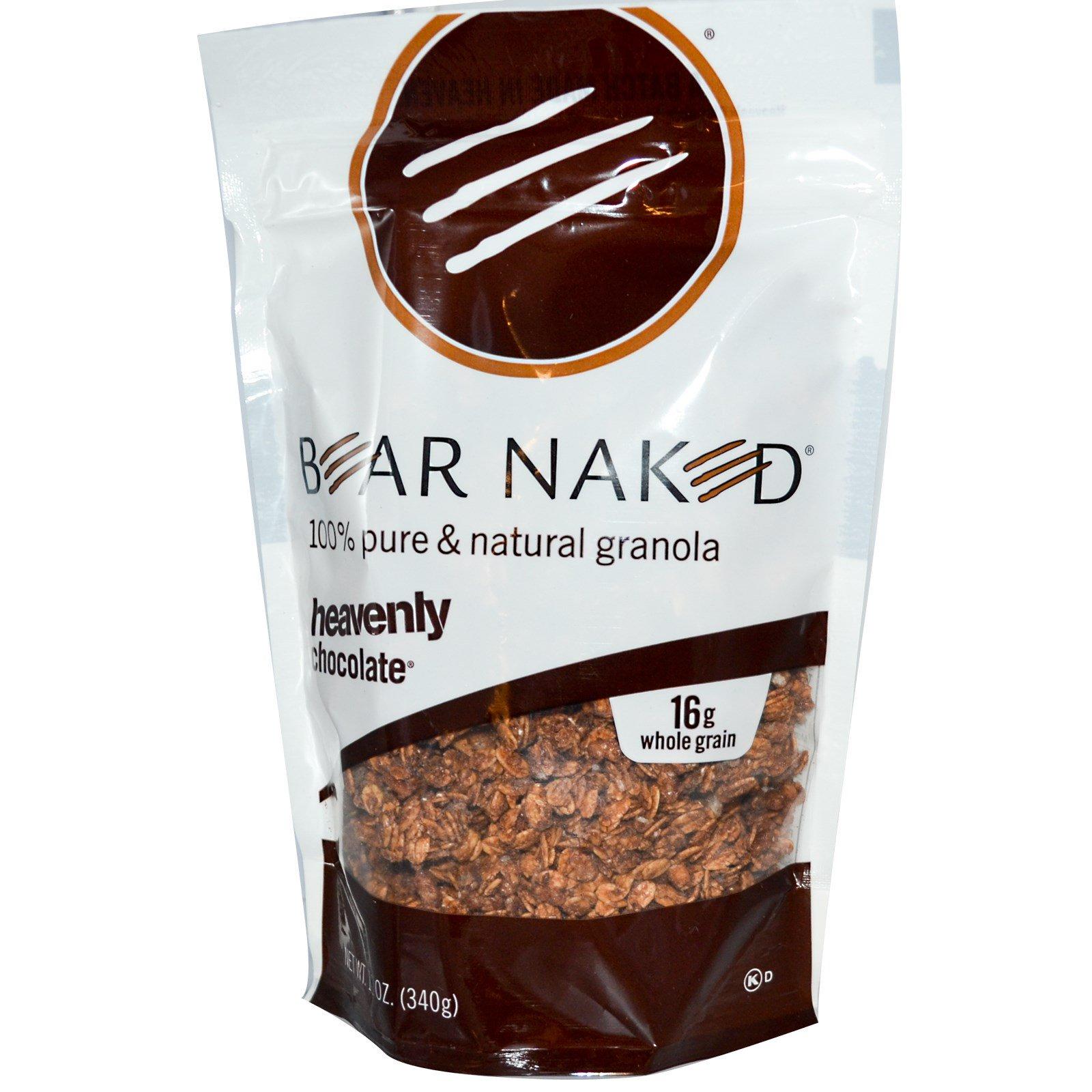 Bear Naked, На 100% чистая и природная гранола, божественный шоколад, 12 унций (340 г)