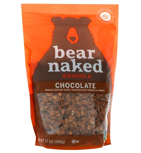 Bear Naked, 100% Pure & Natural Granola, Heavenly Chocolate, 12 oz (340 g) (Discontinued Item)