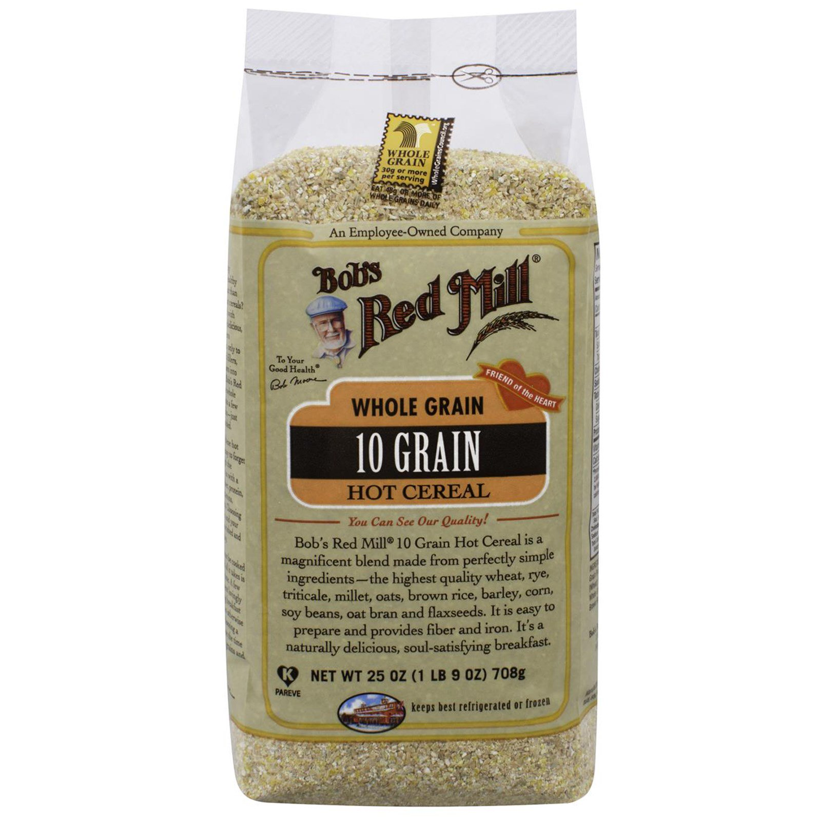 Bobs red mill 10 grain hot cereal whole grain 25 oz 708 g bobs red mill 10 grain hot cereal whole grain 25 oz 708 ccuart Gallery