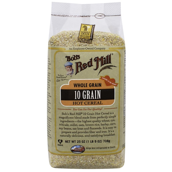 Bob's Red Mill, 10種快熟麥片,全穀物,25盎司(708克)