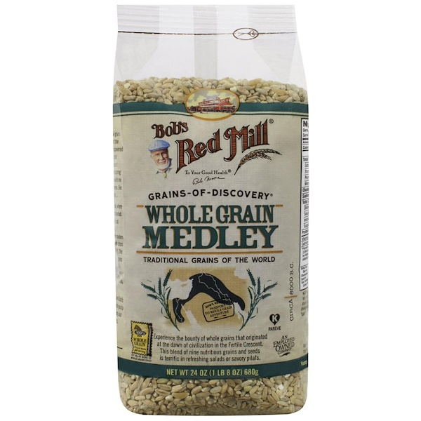 Bob's Red Mill, Whole Grains Medley, 24 oz (680 g) (Discontinued Item)