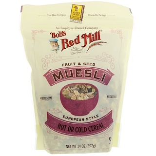 Bob's Red Mill, Muesli, Fruit & Seed, 14 oz (397 g)
