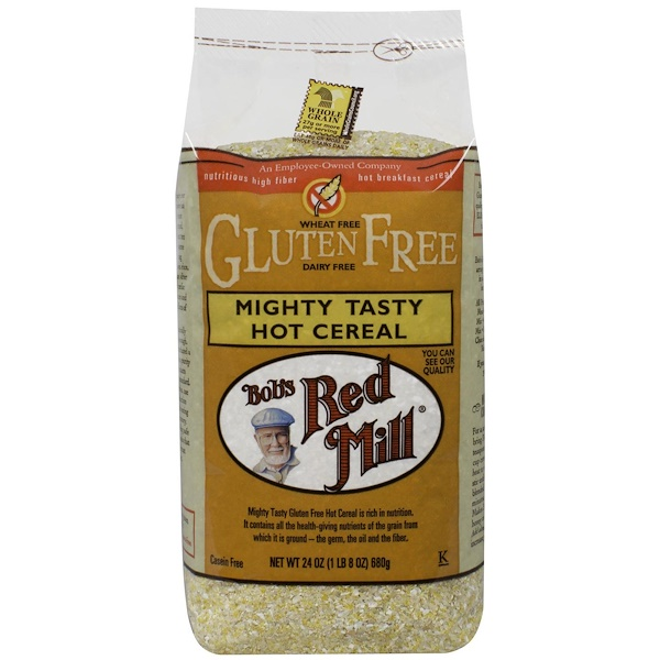 Bob's Red Mill, Mighty Tasty Hot Cereal, Gluten Free, 24 oz (680 g) (Discontinued Item)