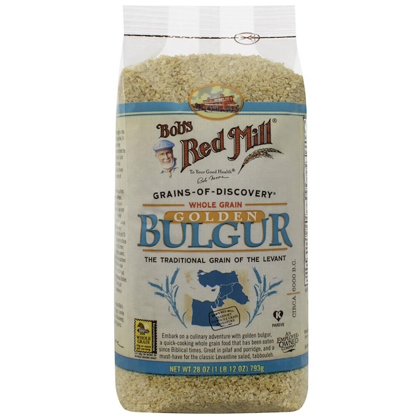 Bob's Red Mill, Whole Grain Golden Bulgur, 1.75 lbs (793 g) (Discontinued Item)