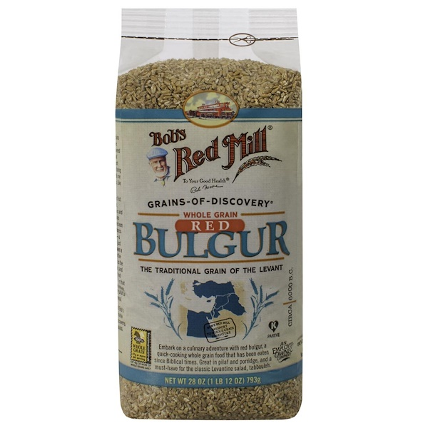 Bob's Red Mill, Whole Grain Red Bulgur, 1.75 lbs (793 g)
