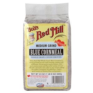 Бобс Рэд Милл, Blue Cornmeal, Medium Grind, 24 oz (680 g) отзывы