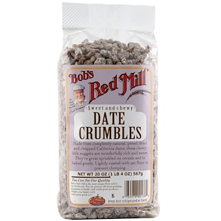 Bob's Red Mill, Date Crumbles, 20 oz (566 g)