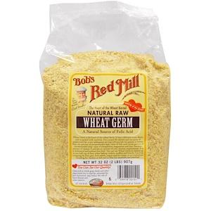Бобс Рэд Милл, Wheat Germ, Natural Raw, 32 oz (907 g) отзывы покупателей