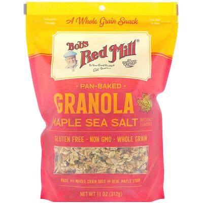 Купить Bob's Red Mill Печеная гранола, кленовый сироп и морская соль, 312г (11унций)