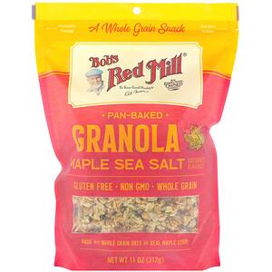 Бобс Рэд Милл, Pan-Baked Granola, Maple Sea Salt, 11 oz (312 g) отзывы покупателей