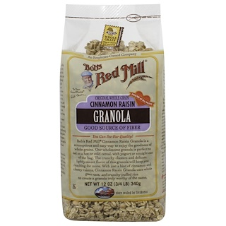 Bob's Red Mill, Cinnamon Raisin Granola, 12 oz (340 g)