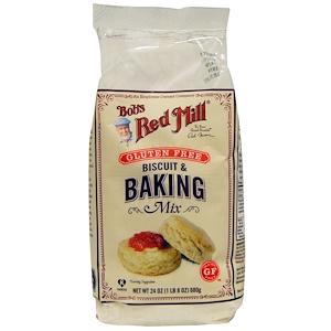 Бобс Рэд Милл, Gluten Free Biscuit & Baking Mix, 24 oz (680 g) отзывы
