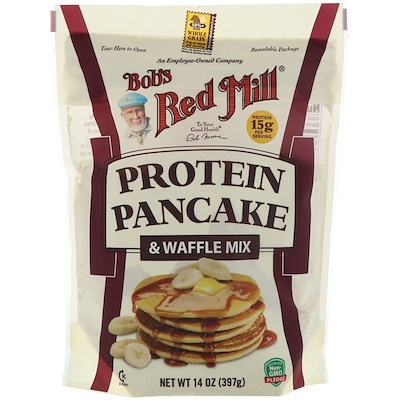 Купить Bob's Red Mill Протеиновая смесь для блинов и вафель, 397 г (14 унций)