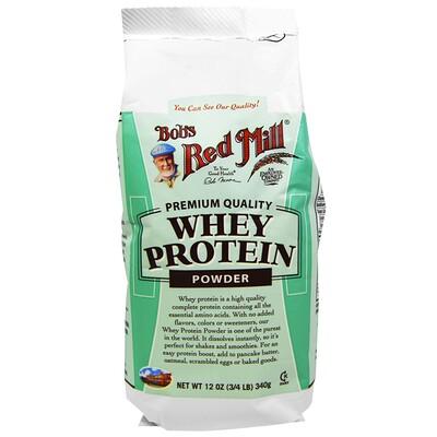 Купить Bob's Red Mill Порошок сывороточного белка, 340 г (12 унций)