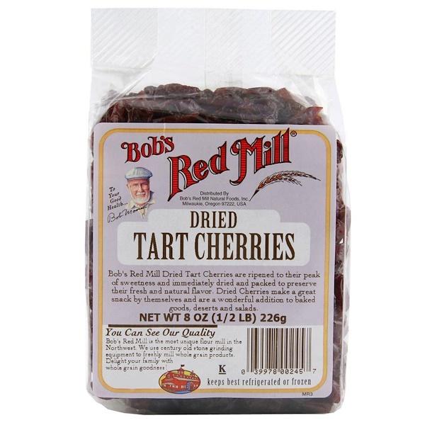 Bob's Red Mill, Tart Cherries, Dried, 8 oz (226 g) (Discontinued Item)