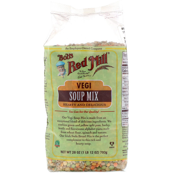 Bob's Red Mill, Vegi Soup Mix, 28 oz (793 g) (Discontinued Item)