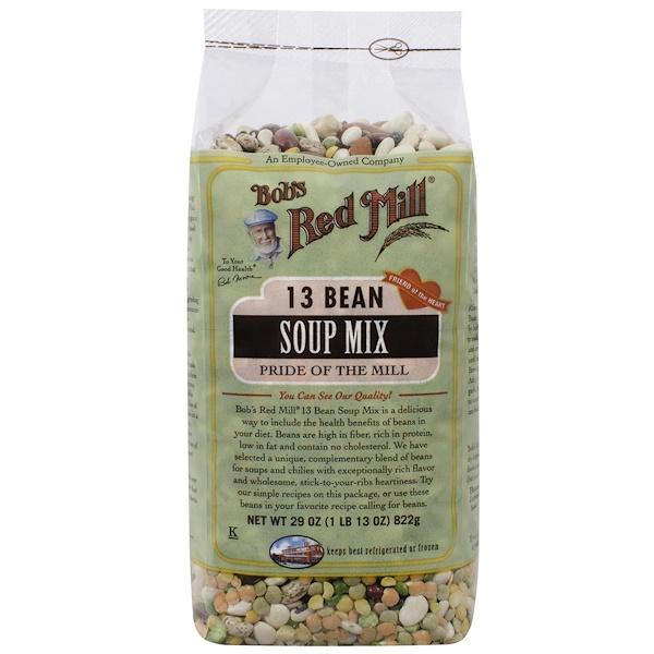 Bob's Red Mill, 13種豆類混合湯料,29盎司(822克)