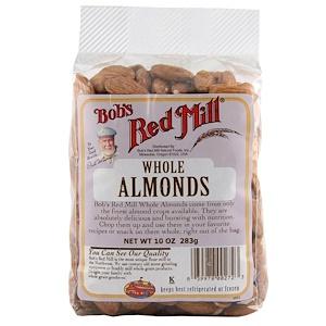 Бобс Рэд Милл, Whole Almonds, 10 oz (283 g) отзывы покупателей