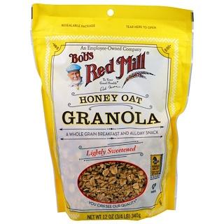 Bob's Red Mill, Granola de avena y miel, 340 g (12 oz)