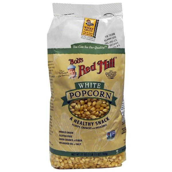 Bob's Red Mill, White Popcorn, 27 oz (765 g) (Discontinued Item)