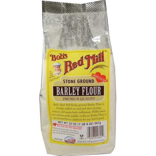 Bob's Red Mill, Barley Flour, 20 oz (567 g) (Discontinued Item)