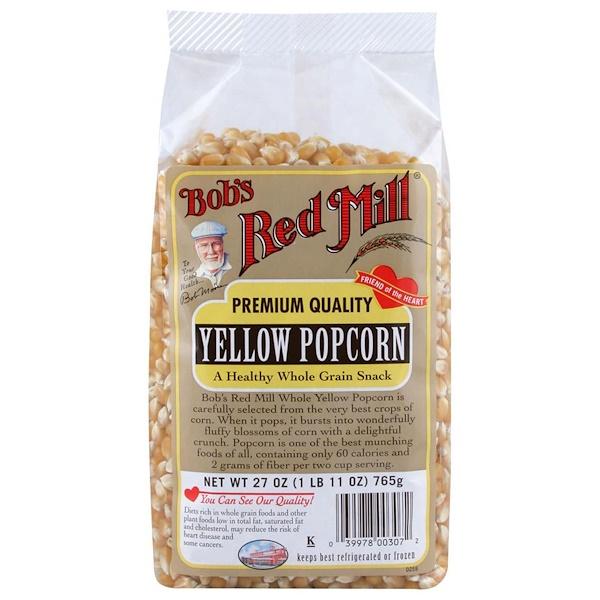 Bob's Red Mill, Yellow Popcorn, 27 oz (765 g) (Discontinued Item)