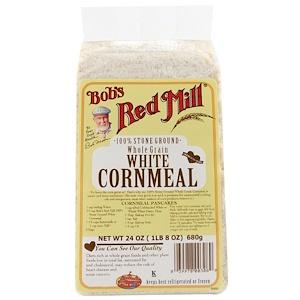 Бобс Рэд Милл, White Cornmeal, Whole Grain, 24 oz (680 g) отзывы