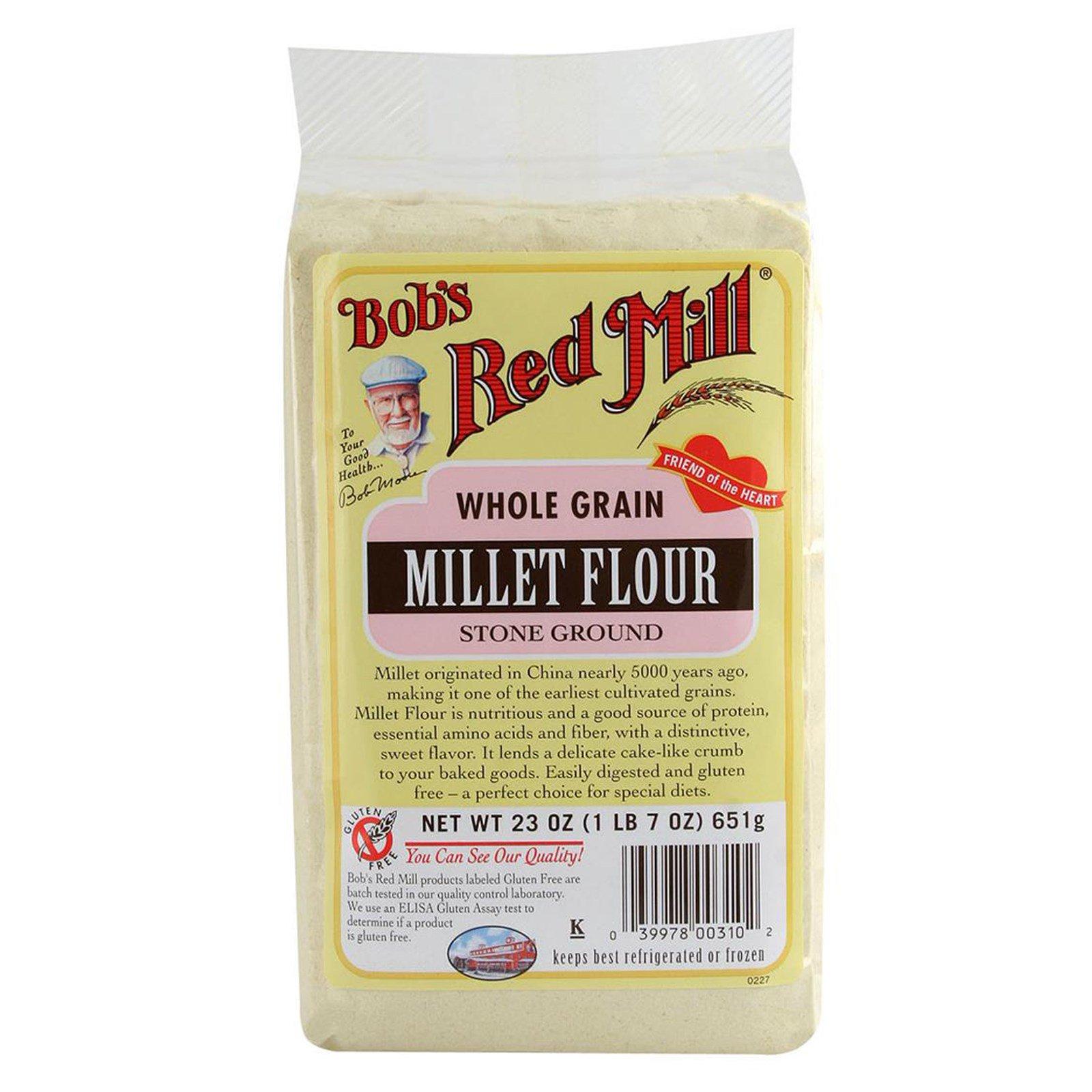 Bob S Red Mill Millet Flour Whole Grain 23 Oz 652 G Iherb