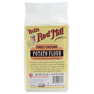 Bob's Red Mill, Finely Ground Potato Flour, Gluten Free, 1.5 lbs (680 g)