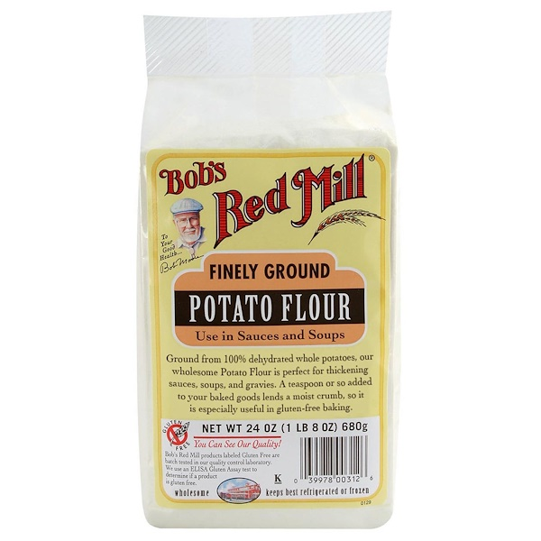Bob's Red Mill, Finely Ground Potato Flour, Gluten Free, 1.5 lbs (680 g)