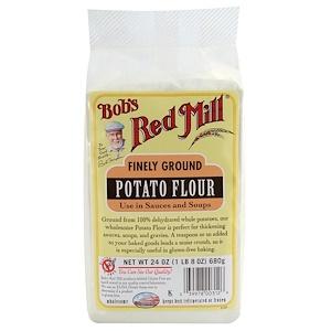 Бобс Рэд Милл, Finely Ground Potato Flour, Gluten Free, 24 oz (680 g) отзывы