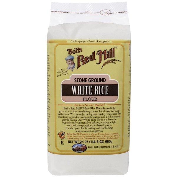 Bob's Red Mill, White Rice Flour, 24 oz (680 g) (Discontinued Item)