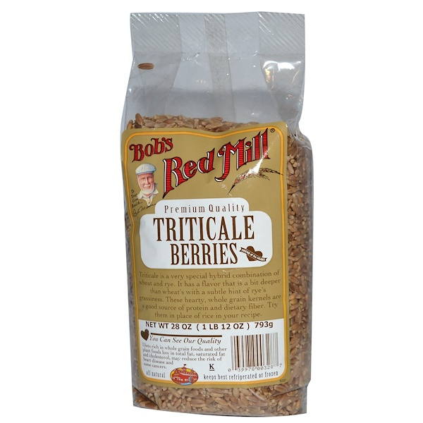 Bob's Red Mill, Triticale Berries, 28 oz (793 g) (Discontinued Item)
