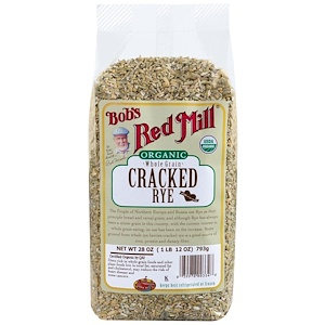 Бобс Рэд Милл, Organic, Cracked Rye, Whole Grain, 28 oz (793 g) отзывы