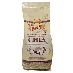 Бобс Рэд Милл, Whole Seed Chia, 16 oz (453 g) отзывы покупателей