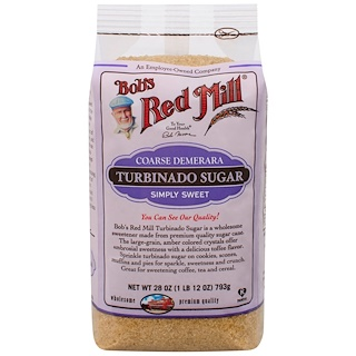 Bob's Red Mill, Turbinado Sugar, 1.75 lbs (793 g)