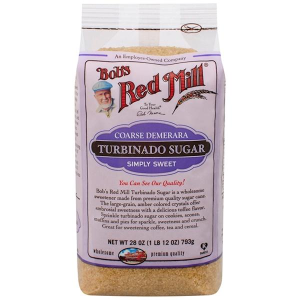Bob's Red Mill, Turbinado Sugar, 1.75 lbs (793 g) (Discontinued Item)