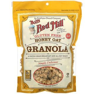 Bob's Red Mill, Honey Oat Granola, Gluten Free, 12 oz (340 g)