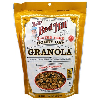 Bob's Red Mill, Gluten Free Honey Oat Granola, 12 oz (340 g)
