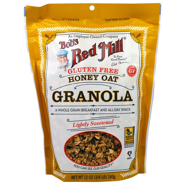 Bob's Red Mill, Honey Oat Granola, Gluten Free, 12 oz (340 g)