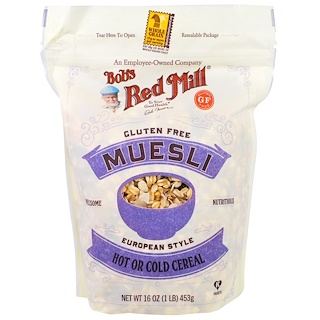 Bob's Red Mill, Muesli, Gluten Free, 16 oz (453 g)